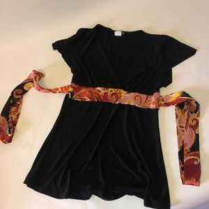 Wet seal polyester shirt